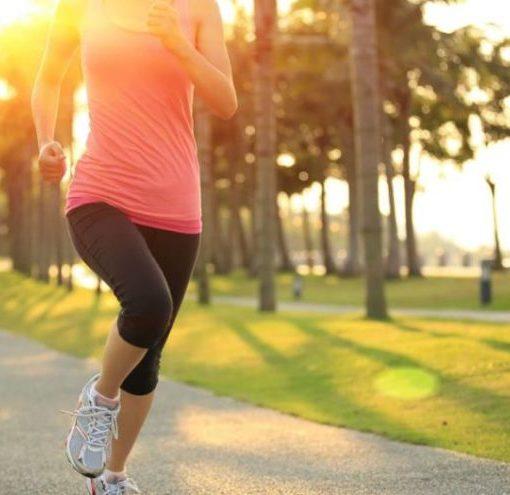 Пробежка по утрам - залог здоровья
