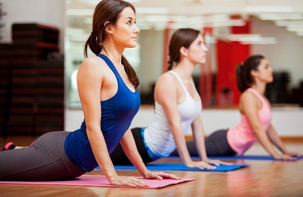 Йога - крепкое здоровье и красивое тело.