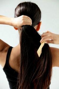 Сильные волосы в домашних условиях